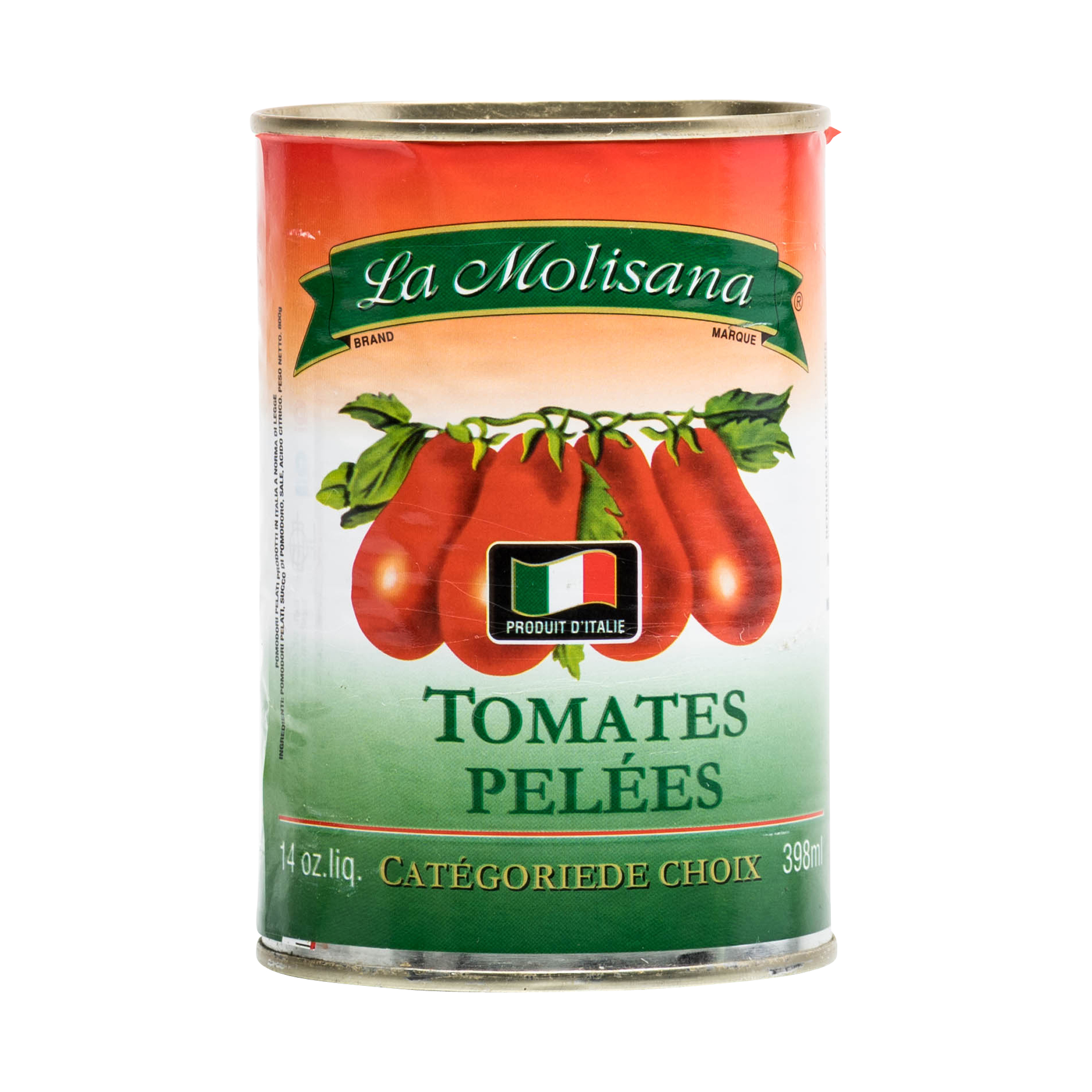 CANNED PEELED PLUM TOMATOES