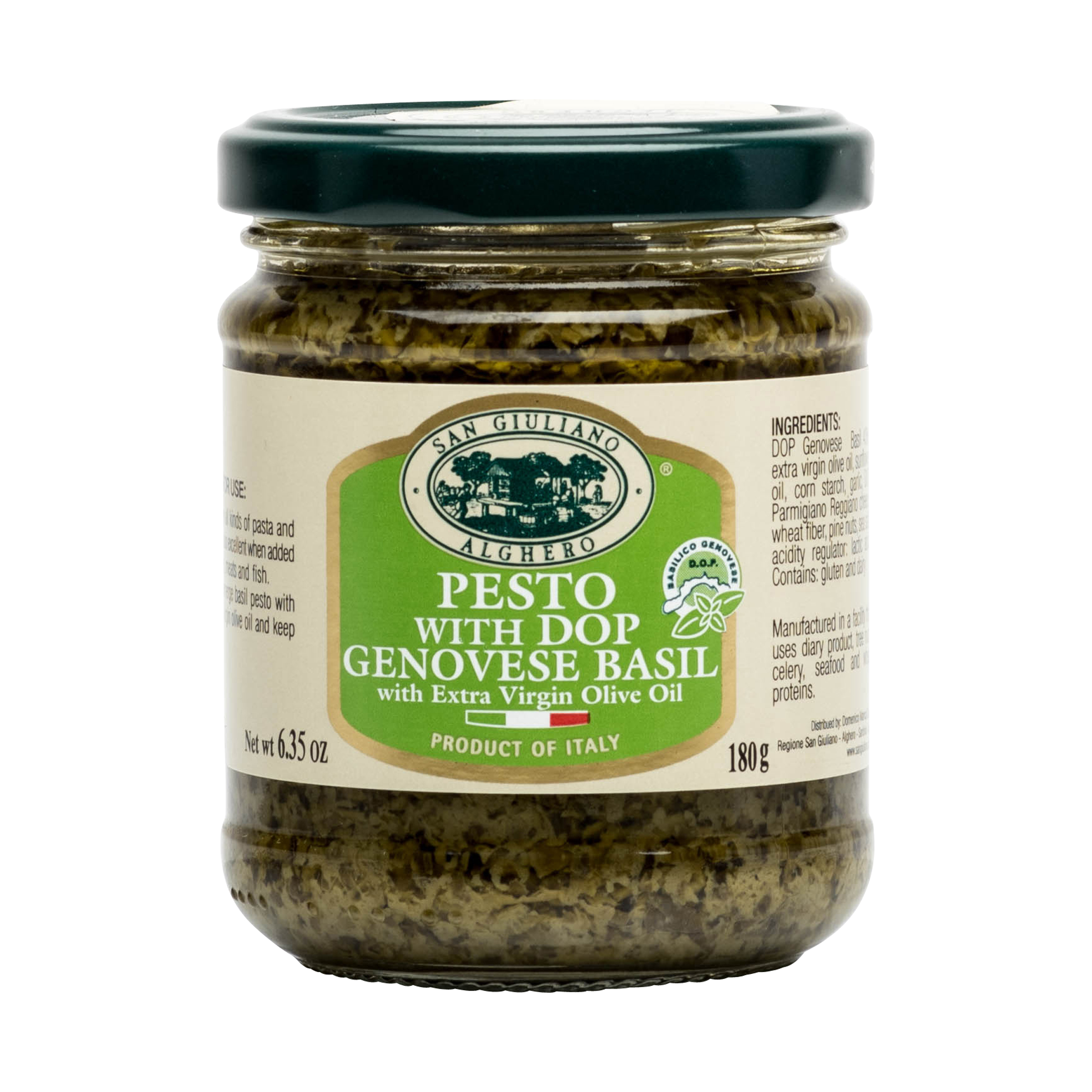 PESTO WITH D.O.P. GENOVESE BASIL