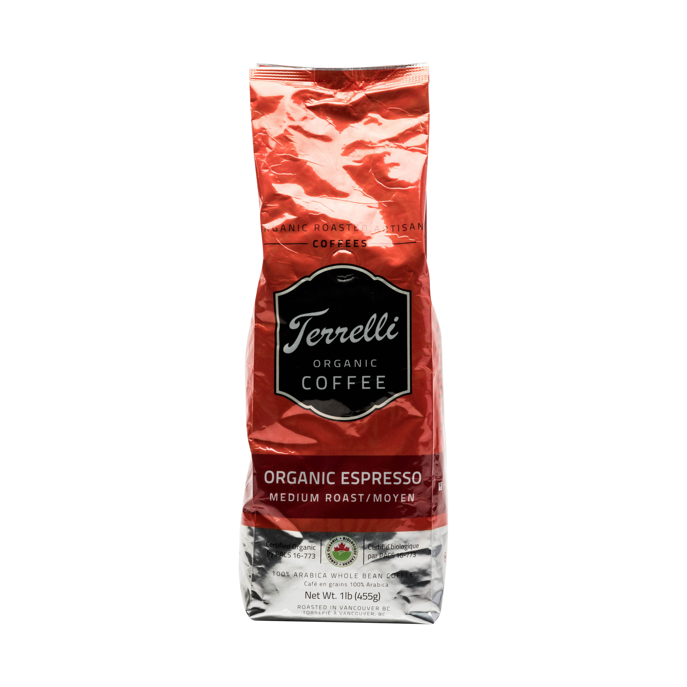 ORGANIC ESPRESSO MEDIUM ROAST