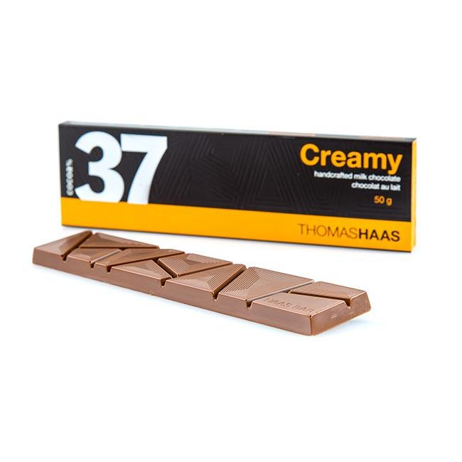 37% CREAMY CHOCOLATE BAR