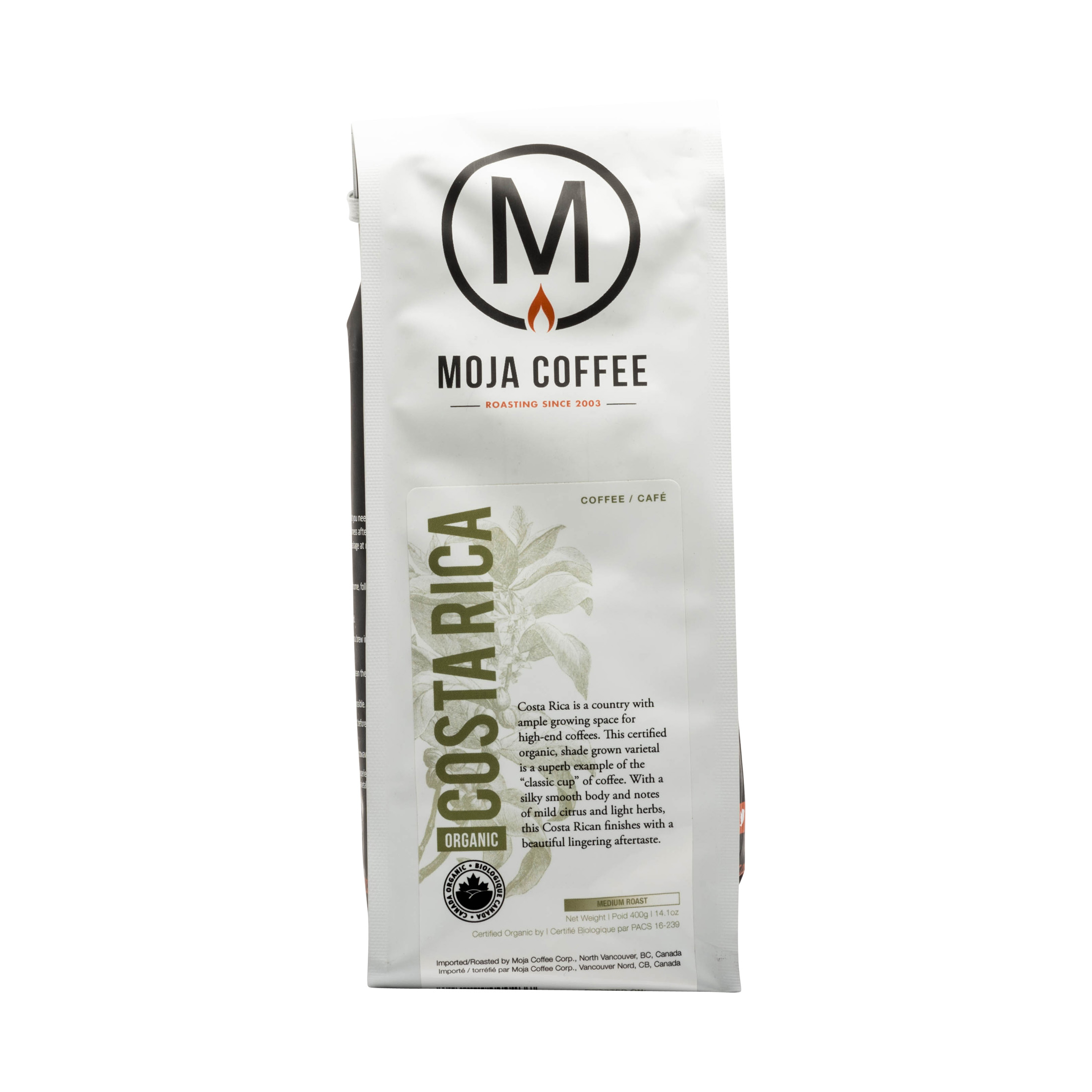 ORGANIC COSTA RICA MEDIUM ROAST