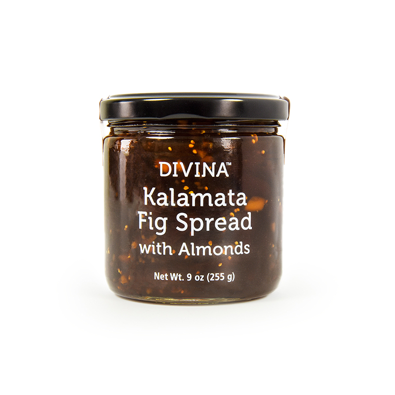 KALAMATA FIG SPREAD WITH ALMONDS
