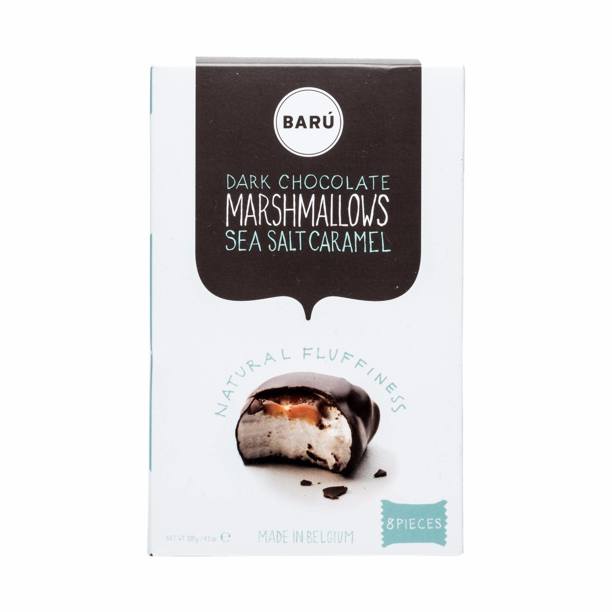 MARSHMALLOWS DARK CHOCOLATE SEA SALT CARAMEL  8 PACK