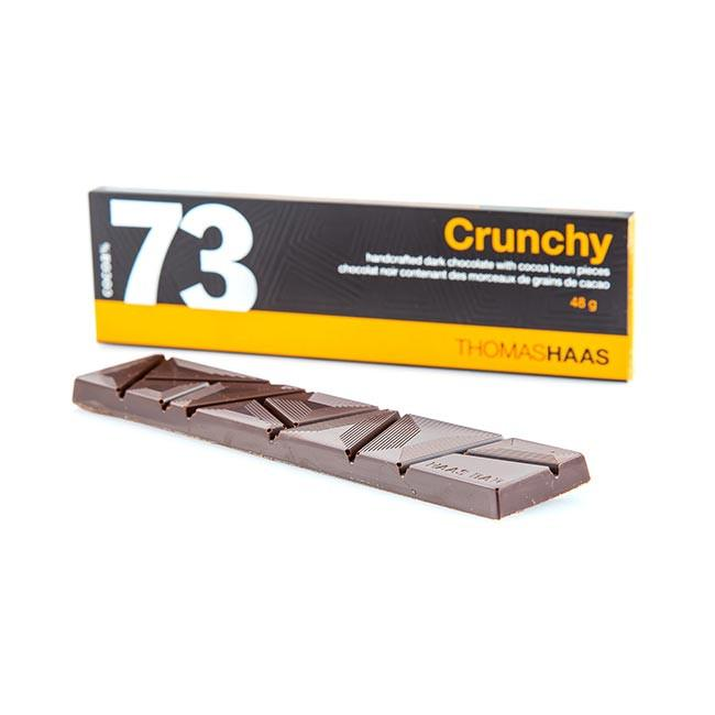 73 CRUNCHY CHOCOLATE BAR