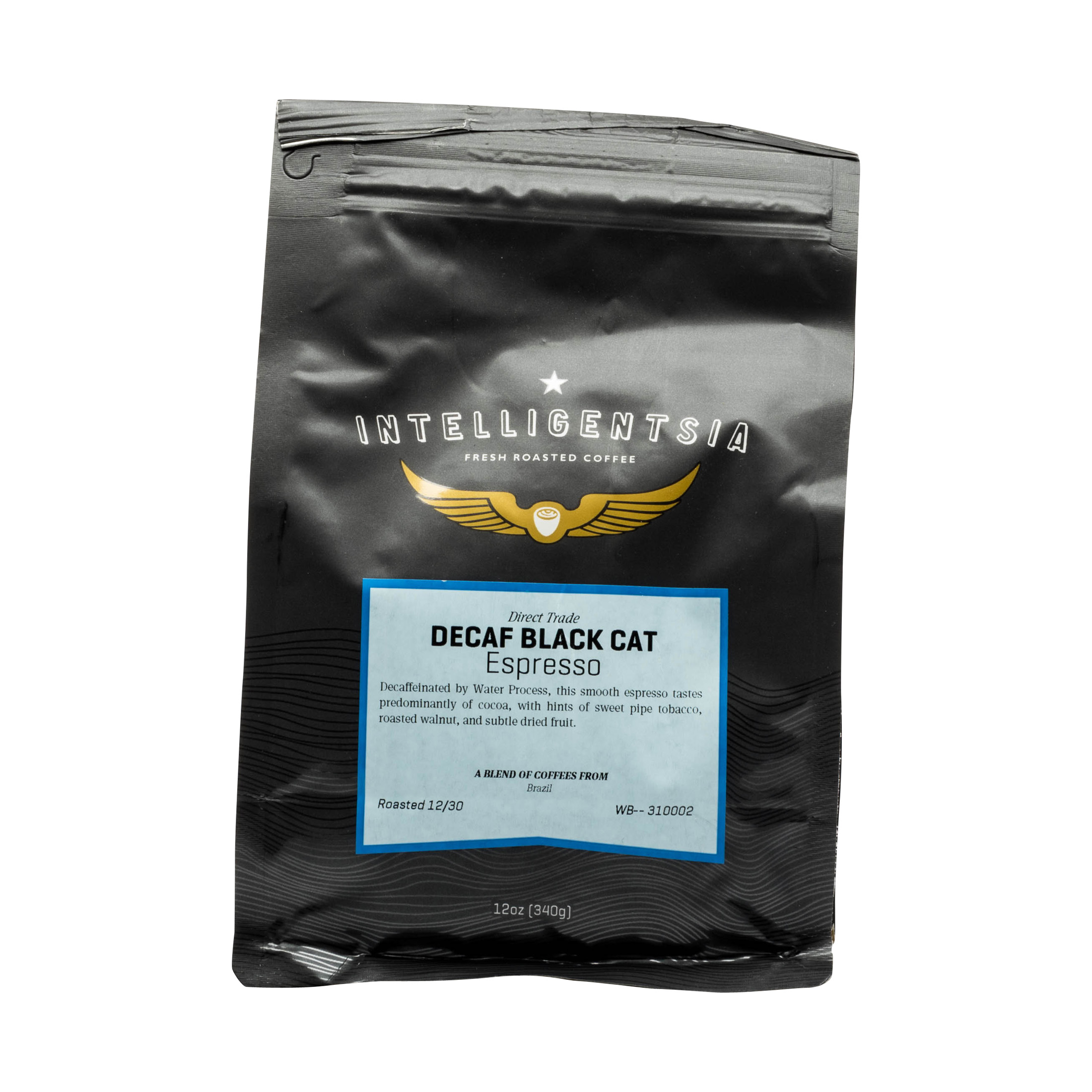 DECAF BLACK CAT ESPRESSO