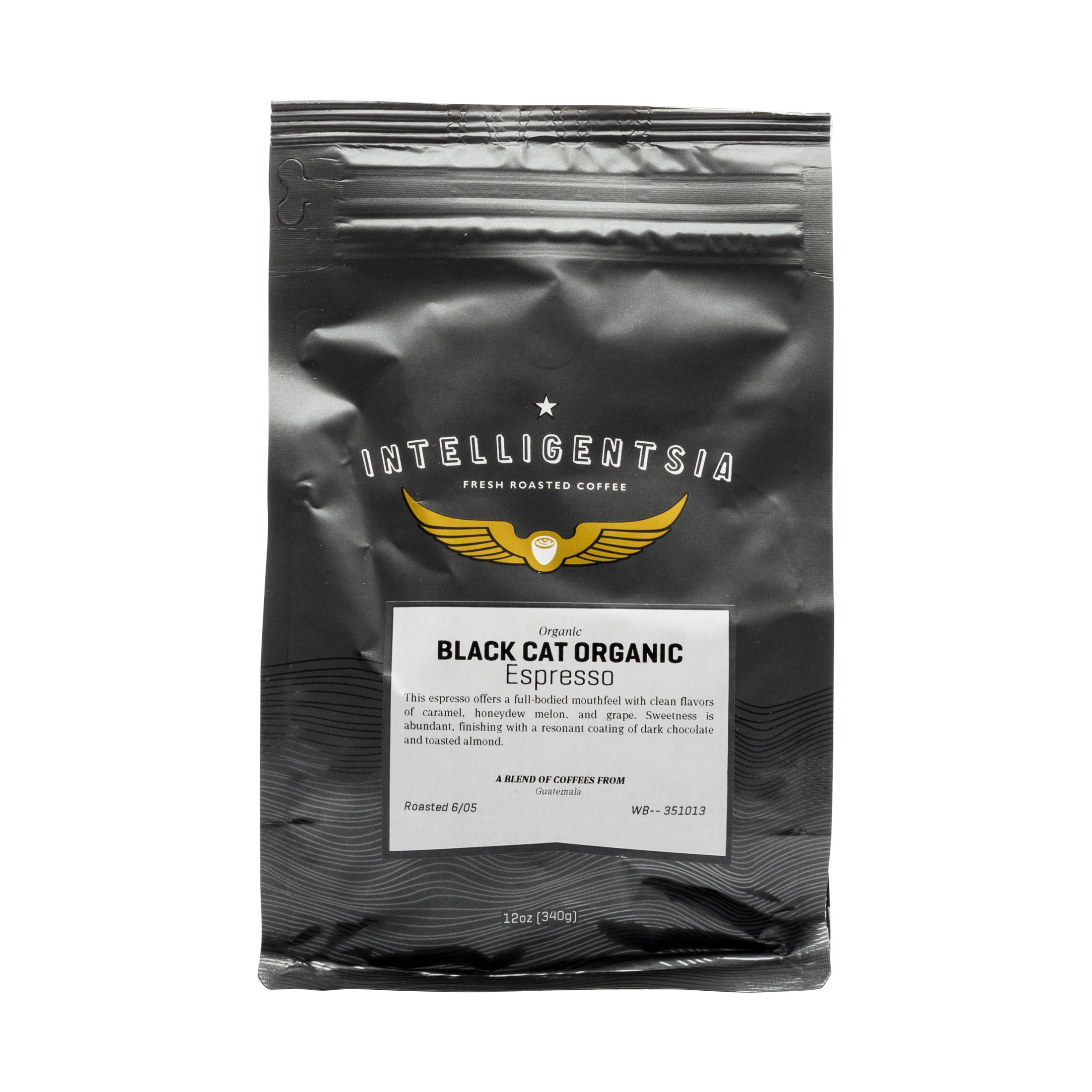 BLACK CAT ORGANIC ESPRESSO