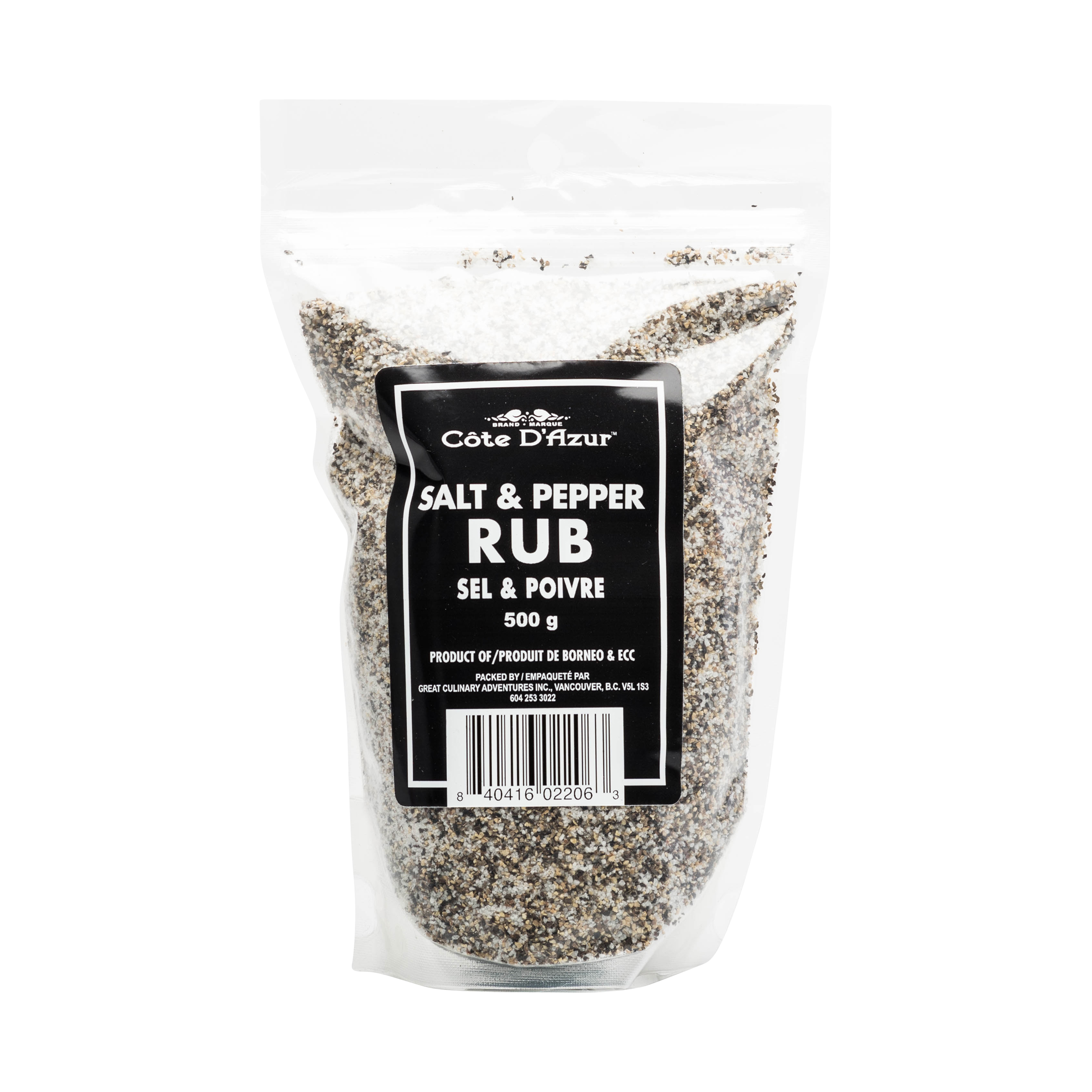 SALT & PEPPER RUB REFILL BAG