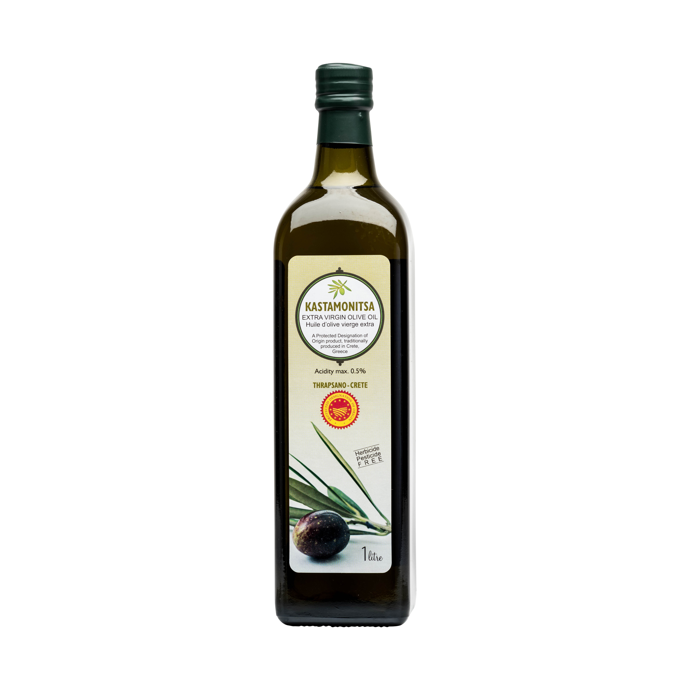 KASTAMONITSA GREEK OLIVE OIL