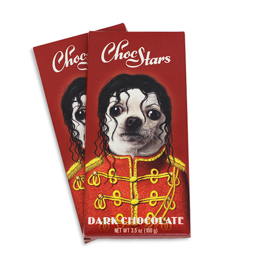 MICHAEL JACKSON CHOCOLATE BAR