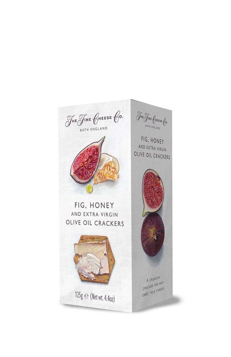 FIG HONEY & EXTRA VIRGIN OLIVE OIL CRACKERS