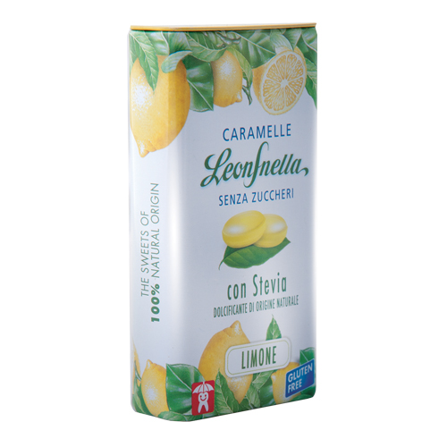STEVIA LEMON LEONE MINTS