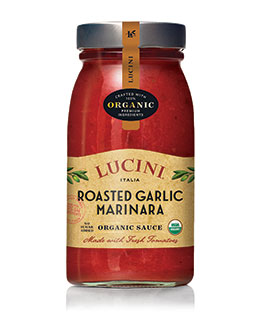 TUSCAN MARINARA WITH ROASTED GARLIC TOMATO SAUCE