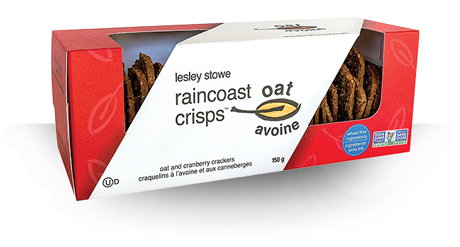 RAINCOAST CRISPS OAT & CRANBERRY