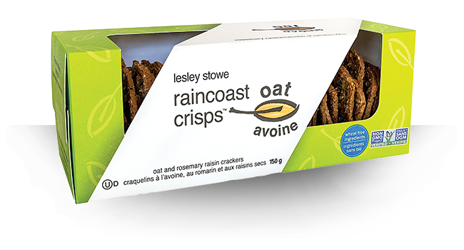 RAINCOAST CRISPS OAT & ROSEMARY