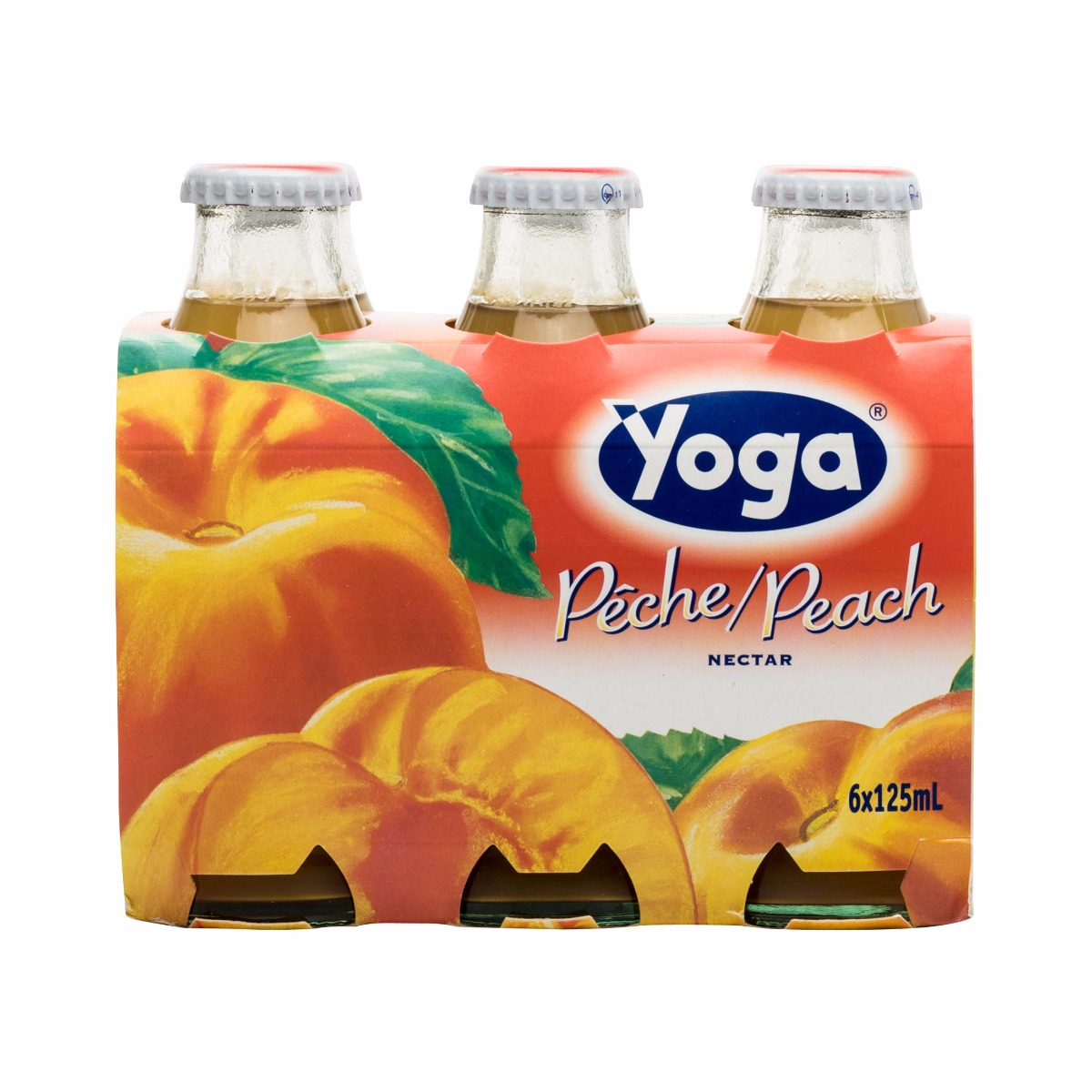 PEACH NECTAR 6X125ML