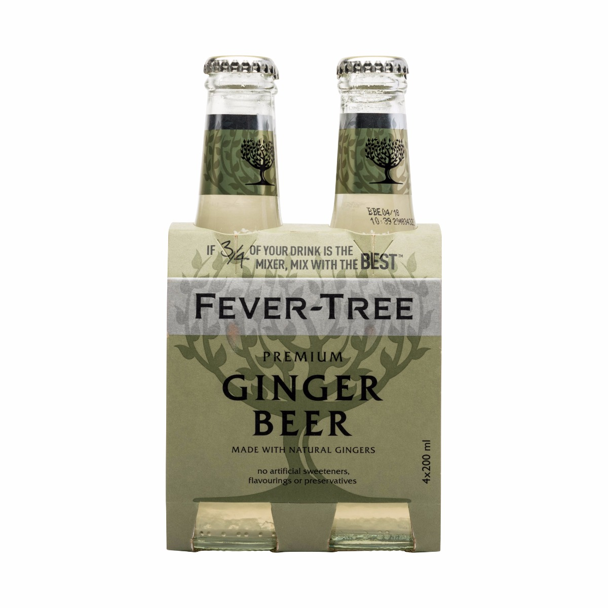 GINGER BEER 4 X 200ML