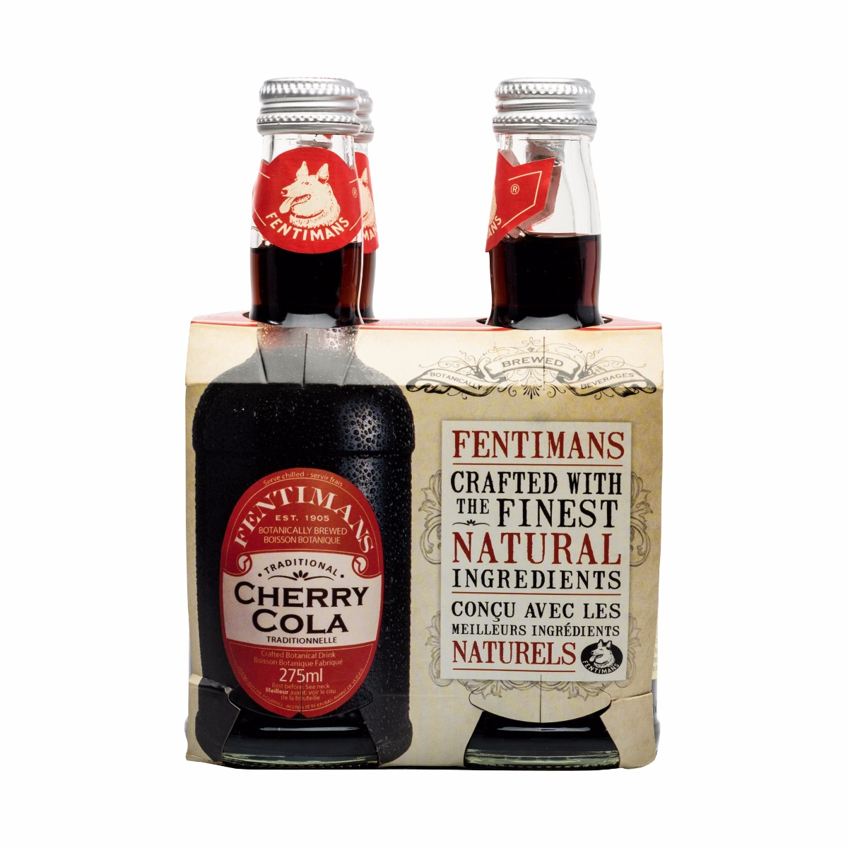 CHERRY TREE COLA 4X275ML