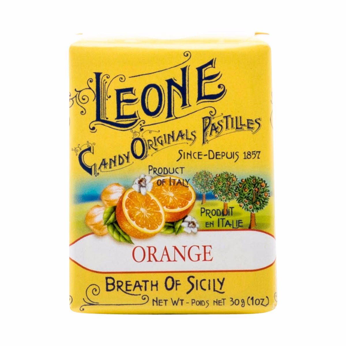 ORANGE LEONE MINTS