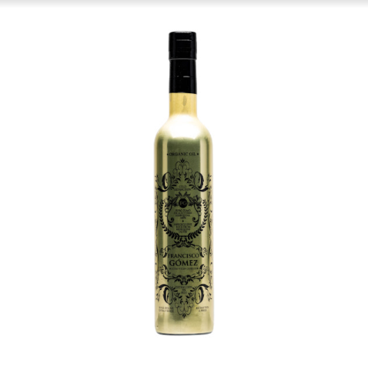 EXTRA VIRGIN OLIVE OIL GOLD BOTTLE